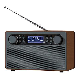 Daewoo Mahogany Style Wood Radio