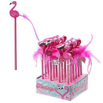 Crayon rose de Flamingo de nouveauté