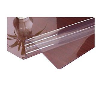 2PCS Hjem rektangel PVC Tabel Protector 24x48Inches Klar 1.5mm Tyk