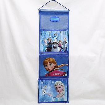 Princess Backpack Storage Hanging Bag, Frozen Elsa Small Wardrobe Storage, Wall
