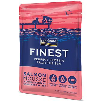 Fish4Dogs Salmon Mousse (Dogs , Dog Food , Wet Food)