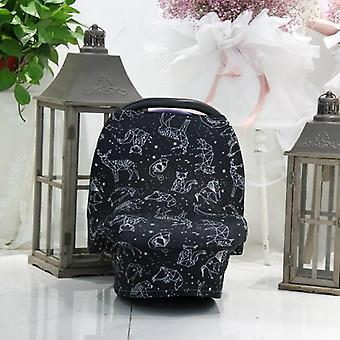 Nursing & Baby Carseat Cover, Ultra Soft And Breathable, Large Full Coverage