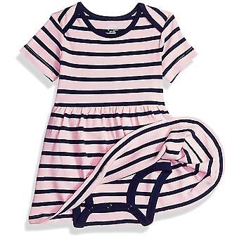 Essentials Baby 3-Pack Dress, Girl Heart, 24M