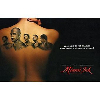 Miami Ink Movie Poster (17 x 11)