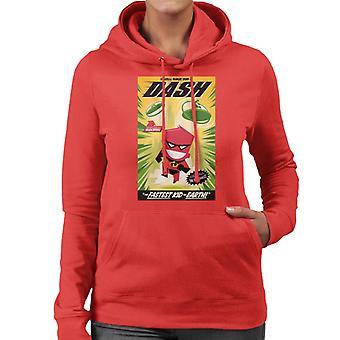 Pixar The Incredibles Dash The Fastest Kid On Earth Women's Hooded Sweatshirt