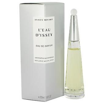 L'Eau d'Issey (issey Miyake) Eau De Parfum Spray recarregáveis por Issey Miyake 1,6 oz Eau De Parfum Spray recarregáveis