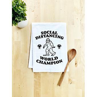 Sosial Distancing Verdensmester Kjøkkenhåndkle