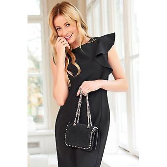 Womens Sleeveless Midi Dress Fa600
