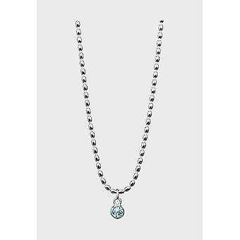 Kalevala Necklace Adjustable 42/45cm Fountain Silver Topaz 2266561TO45