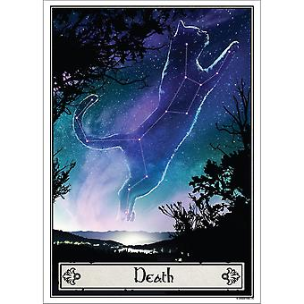 Deadly Tarot Death Felis Poster