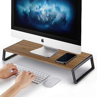 AboveTEK Monitor Stand Riser with Metal Feet for Computer Laptop iMac TV