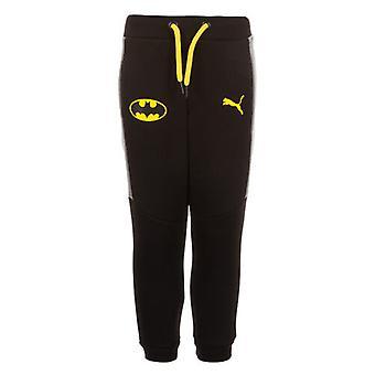 Puma Batman ιδρώτα joggers νήπια παιδιά μαύρο παντελόνι κομμάτι σλιπ 839674 01 A17C
