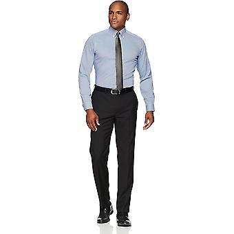 BUTTONED DOWN Männer's maßgeschneiderte Fit Button-Collar Muster nicht-Eisen Kleid Shirt, ...