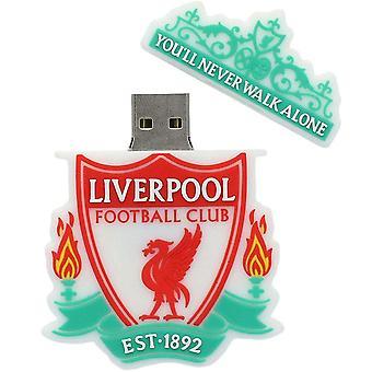 Liverpool FC 16GB Crest USB Flash Drive