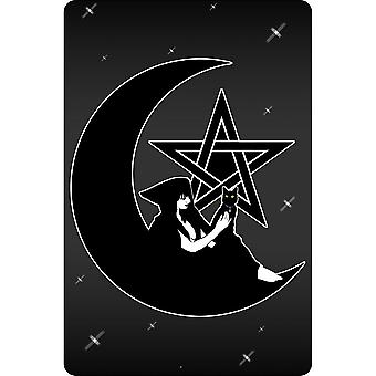 Grindstore Pentagram Witch Plaque