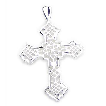 Cross Ornate Sterling Silver Pendant .925 X 1 Holy Crosses Pendants - 6705