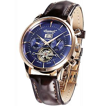 Mens Watch Ingersoll IN1709RBL, Automatic, 44mm, 5ATM