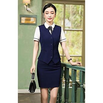 Office Lady Formal Hose Jacke Anzug