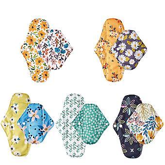 Herbruikbare sanitaire wasbare panty liner pads