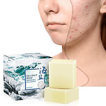 Goat Milk Sea Salt Soap Removal Pimple Pores