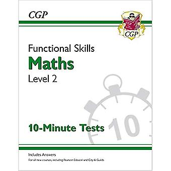 New Functional Skills Maths� Level 2 - 10 Minute Tests (for 2020 & beyond)