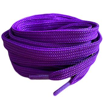 Purple Flat Trainer Shoelaces Laces