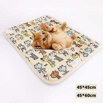 Lemmikkieläinten sähköinen lämpöhuopatyyny, lämmitinmatto, sänky, vartalon talvilämmitinmatto,