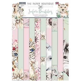 The Paper Boutique - Safari Buddies Collection - Insert Collection