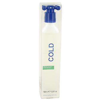 Cold Eau de toilette spray (unisex) door Benetton 3,4 oz Eau de toilette spray