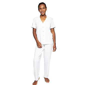 Cyberjammies Nora Rose Elizabeth 1533 Dames Witte Pyjama Set