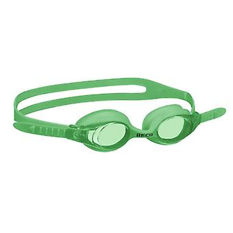 BECO Junior Colombo Swimming Goggles - 12yrs+- Green