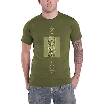 Joy Division T Shirt Unknown Pleasures Blended Pulse new Official Mens Green