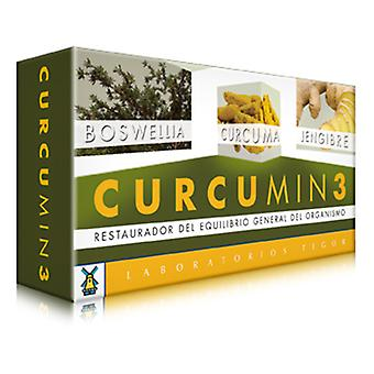 Laboratorios Tegor Curcumin 3 suplemento nutricional 30 comprimidos