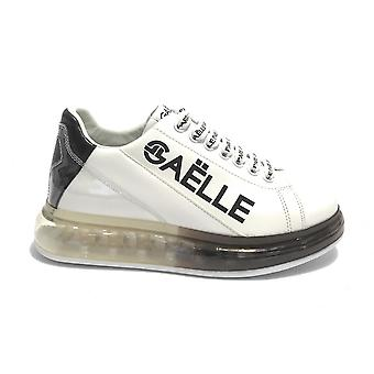 Women's Shoes Sneaker Gaëlle With Transparent White/ Black Bottom Ds21ge07 Gbds2272