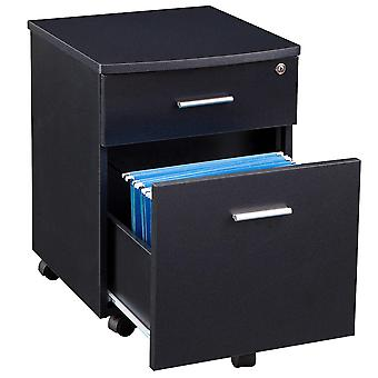 Two Drawer A4 Suspension Filing Pedestal for Home Office - Piranha Blenny PC 10g
