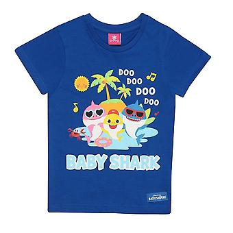 Baby Shark Girls Family Shades T-Shirt