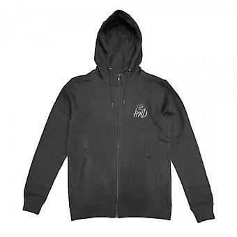 Kings Will Dream Crosby Black/Grey Zip Up Hoody Sweatshirt