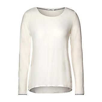 Cecil 315475 T-Shirt, Light Alabaster White, XXL Women