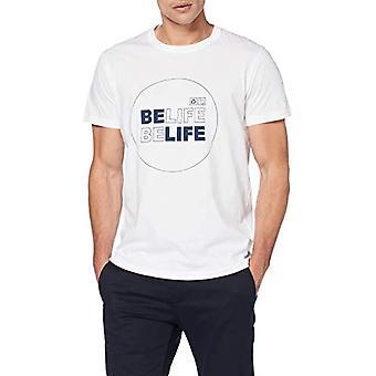 Pepe Jeans Taryn M T-shirt, White (Optic White 802), L arge Men's