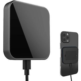 FengChun Magnetisches Wireless-Ladegerät mit abnehmbarem Ständer, 15W Schnelles drahtloses Ladepad kompatibel