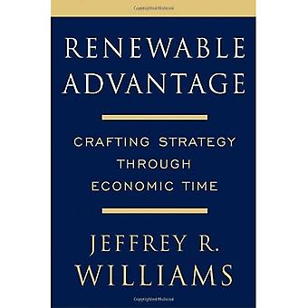 Avantage renouvelable : élaborer une stratégie à travers le temps économique