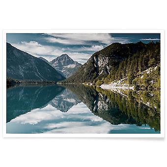 JUNIQE Print - Nothing Beats Nature @GospodarekMikolaj - Montagnes posters en Bleu & Braun