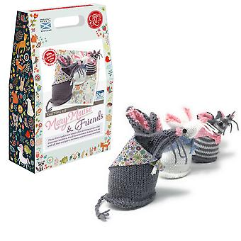 Mary Mouse and Friends Knitting Kit for Improvers