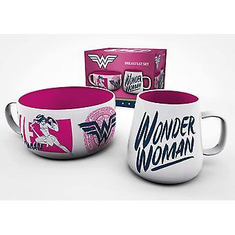 DC Comics Wonder Women Brave Breakfast Set