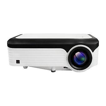 Projektor LCD L6 1080P 1920 * 1080P 200 Lumens Ansi 30-150 cali Projektor led wideo