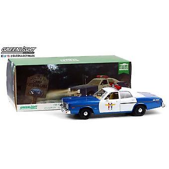 1979 Dodge Monaco Camp Crystal Lake Polis 1:18 Greenlight 19068