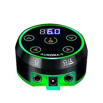 Professional Mini Aurora Ii Lcd Tattoo Power Supply With Power Adaptor