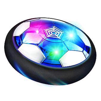 Air Power drijvende voetbal speelgoed met knipperende lichten voor kinderen indoor game
