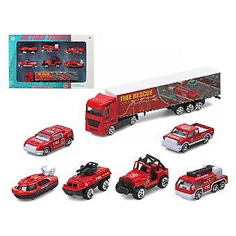 Actionteam för fordonstransporttruckar (28 x 13 cm)
