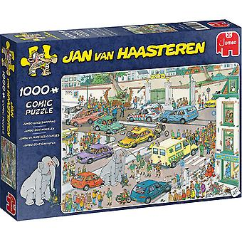 Jumbo Jan van Haasteren Jumbo Goes Shopping Jigsaw - 1000 Piece